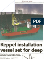 Keppel Installation Veseel for Deep