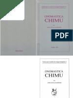 onomastica Chimu II