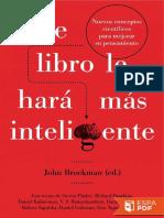 Este Libro Le Hara Mas Inteligente - John Brockman