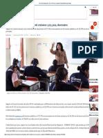Día Del Maestro_ en El Perú Existen 523,304 Docentes
