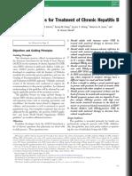 AASLD Guidelines for Treatment of Chronic Hepatitis B