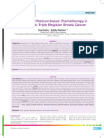 22_234Analisis-Benefit of Platinum-based Chemotherapy in Metastatic Triple Negative Breast Cancer