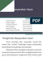Kelompok 11_Konsep Masyarakat Islam