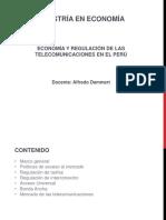 Economía y Regulación de Las Telecomunicaciones en El Perú