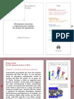 Diversidad de Textos-Informaciones y Sugerencias
