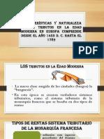 Características y Naturaleza de Los Tributos en La