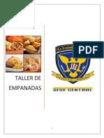Taller Empanadas Recetario