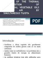 Analysis of the Thermal Decomposition Of