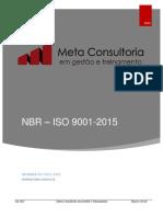 ISO 9001 - 2015 - Meta Consultoria