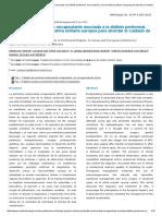 Peritonitis Esclerosante Encapsulante Asociada a La Diálisis Peritoneal