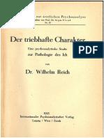4 Reich 1925 Der Triebhafte Charakter