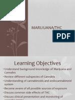 Marijuana THC Presentation