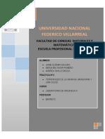 informe Nº2 ORGANICA4