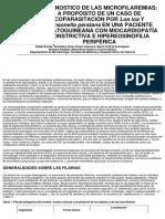 Diagnostico de Microfilaremia