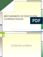 Mecanismos de Seleccion