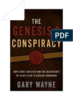 The Genesis 6 Conspiracy - Gary Wayne