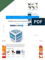 VirtualBox_ Como Criar Uma Pasta de Compartilhamento - TecMundo