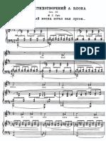 6 Poems by Alexander Blok, Op.20 (Myaskovsky, Nikolay)
