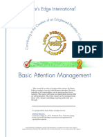 Basic Attention Management