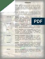Lista de palabras en Warekena
