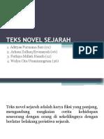 Materi Teks Novel Sejarah