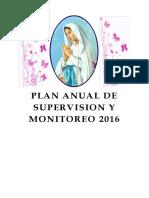 Plan Anual de Supervisión