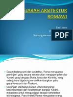 105806608 Sejarah Arsitektur Romawi