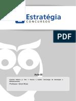 Aula 05 - Controle Externo TCU - TEFC e AUFC (TI e Bibliotec) 2014