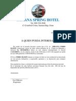 Samana Spring Hotel