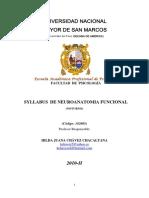 Neuroanatomia Funcional-Chavez Hilda 2010-II