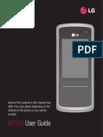 Lg Kf510 Manual