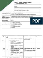 planificación semanal 2° unidad 3° medio electivo proyecto