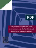 Guia práctica Ley Organica 1 2004 Observatorio 2016