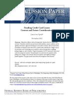 D 2013 November Funding Credit Card Loans