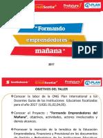 Presentación Formando Emprendedores Del Mañana- DRELM