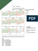 Calendario CSIM 2015-16