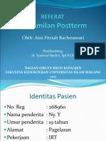 LAPSUS Postterm