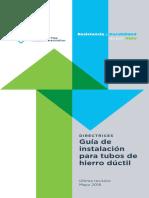 Guidelines-DuctileIronPipeInstallGuide Spanish ODAR
