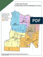 Proposed 2018-19 Elementary School Zones