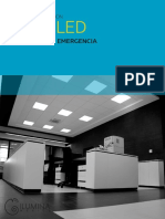 Catalogo Paneles y Gabinetes Led Estancas Panel 60x60 60x120 y 30x120 Ilm