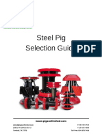 Steel Pig Selection Guide