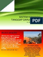 Sistem Komando Tanggap Darurat Ics