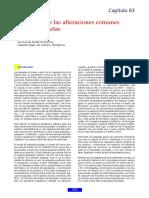 Evaluacion de Las Alteraciones Comunes de Las Plaq