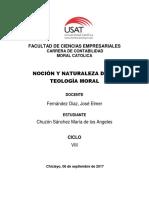 Nocion Teologica - Chuzòn Sànchez Marìa