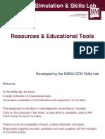 Nursing Skills Lab Equipment & Supplies