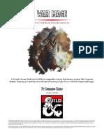 Arcane Tradition - War Mage v102-En-PrintFriendly