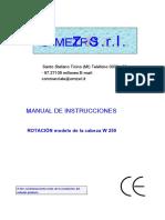 Rotating Washing Head w 250 Cls - Instruction Manual in English Language (1).en.es