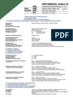 Ficha de Seguridad ML700