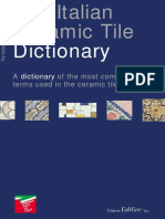 Dictionary Ceramic - Ita Eng