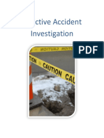Effective Accident Investigation